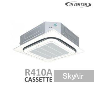 AC Daikin Cassette - Harga AC Daikin - Jual AC Daikin - SkyAir R410a - Roundflow Inverter - Permata Teknik