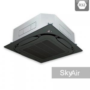 AC Daikin Cassette - Harga AC Daikin - Jual AC Daikin - SkyAir R32 - Roundflow - Black