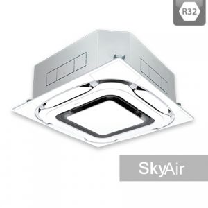 AC Daikin Cassette - Harga AC Daikin - Jual AC Daikin - SkyAir R32 - Roundflow-designer panel