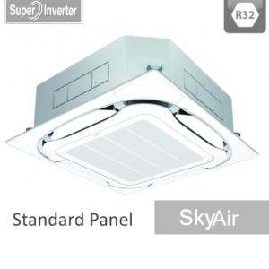 AC Daikin Cassette - Harga AC Daikin - Jual AC Daikin - SkyAir R32 - Roundflow Inverter Standar White